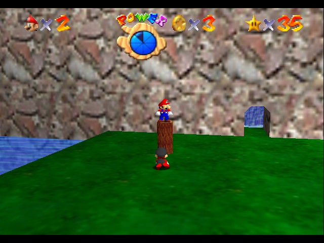 Super Mario 64 - Multiplayer - Mini-Game  - all hail mario - User Screenshot