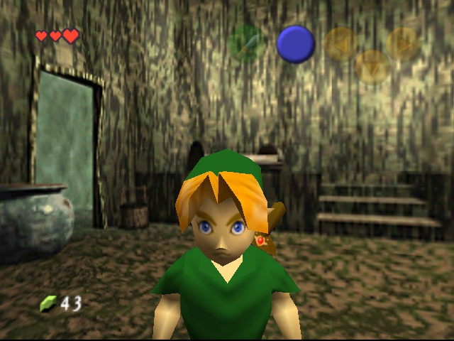 The Legend of Zelda - Ocarina of Time - Level House of twins -