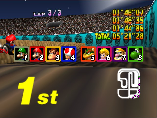 Mario Kart 64 - Misc  - scoreboard! - User Screenshot
