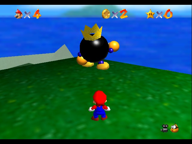 Super Mario 64 - Misc  - Look it