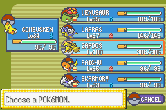 Pokemon Rebirth - Character Profile  - CAUGHT ZAPDOS WITH THESE POKEMON!!!!!!!!  - User Screenshot