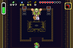 The Legend of Zelda - A Link to the Past & Four Swords - Cut-Scene  - Why am I just standing there!? - User Screenshot
