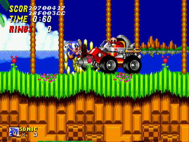 Sonic the Hedgehog 2 - Battle  - Robotnik:Not what you think sonic! - User Screenshot