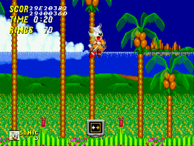 Sonic the Hedgehog 2 - Battle  - Sonic:HAAAAAAAAAAAAAAAAAAAAAAAAAAAAAAAAAAA - User Screenshot