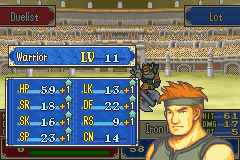 Fire Emblem - Fuuin no Tsurugi (english translation) - Battle  - LOT GOT A PERFECT LEVEL UP - User Screenshot