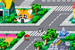 Sonic Battle - Location  - Knuckles at Emerald Beach - User Screenshot
