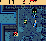 The Legend of Zelda - Oracle of Ages - Cut-Scene  - Veran possesses Nayru - User Screenshot
