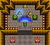 The Legend of Zelda - Oracle of Ages - Cut-Scene  - The Tri-Force - User Screenshot