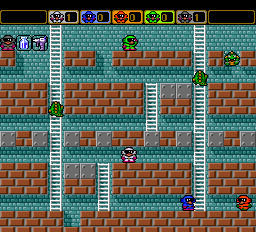 Battle Lode Runner - Level  - 5 Man Battle - User Screenshot