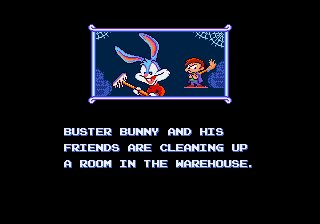 Tiny Toon Adventures - Busters Hidden Treasure - Introduction  -  - User Screenshot