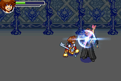 Kingdom Hearts - Chain of Memories - Battle  -  - User Screenshot