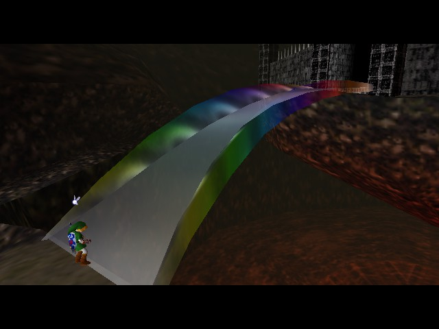 Legend of Zelda, The - Ocarina of Time - Taste the Rainbow! - User Screenshot