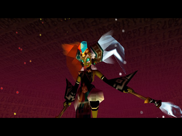 Legend of Zelda, The - Ocarina of Time - Battle  - Umm...O_o - User Screenshot