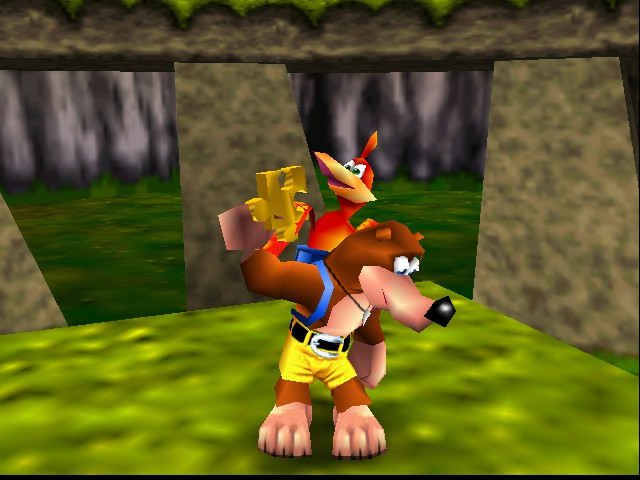 Banjo-Kazooie - I got a Jiggy! - User Screenshot