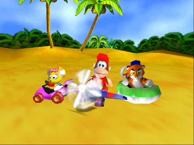 Diddy Kong Racing - Introduction  -  - User Screenshot