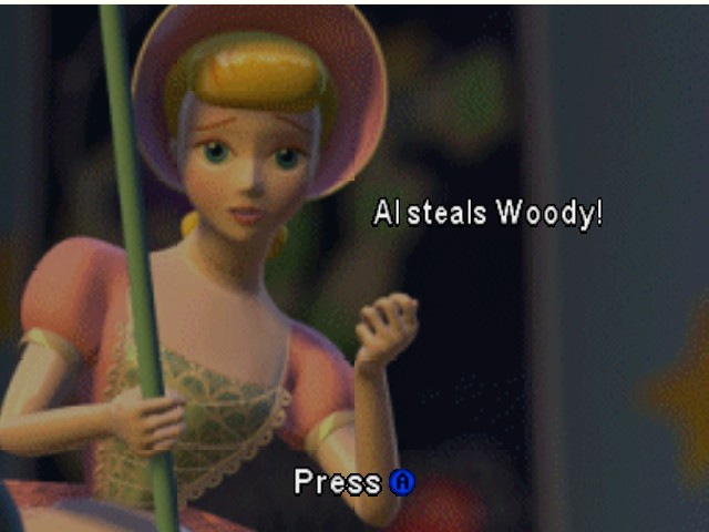 Toy Story 2 - Cut-Scene  -  - User Screenshot