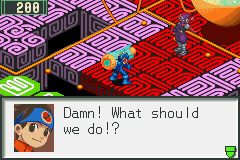 Megaman Battle Network 2 - Someone