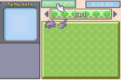 Rattata -Menus PC:Box buddies. Like when a GF is busy w/ 5 guys - User Screenshot