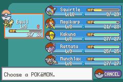 Rattata -Menus Party:My little bitty team - User Screenshot