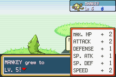 Pokemon Fire Red - Battle  - The rewards of training from the ground up. - User Screenshot