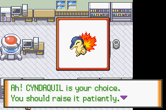 Cyndaquil -Character Select :Decisions, decisions. - User Screenshot