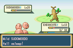 Pokemon Shiny Gold - Battle  - Vulnerable. Time to capture it. - User Screenshot