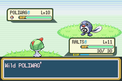 Pokemon Shiny Gold - Battle  - My dance with the tadpole - User Screenshot