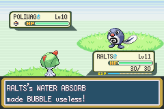 Pokemon Shiny Gold - Battle  - Now you are helpless. You sputty spoo! - User Screenshot