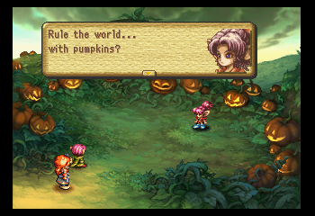 Legend of Mana - Cut-Scene  - Maybe. - User Screenshot