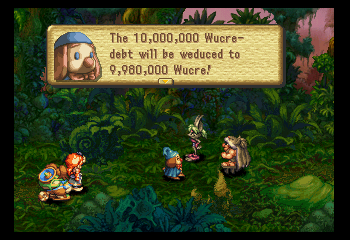 Legend of Mana - Level Forest - Love this guy. - User Screenshot