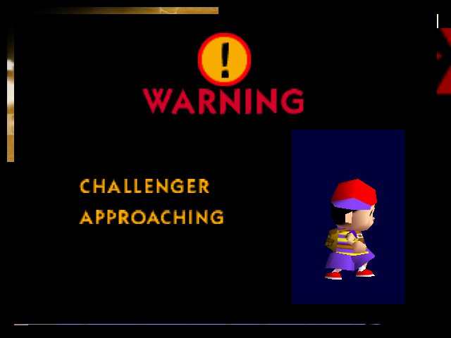 Super Smash Bros. - Misc  - Challenger Approaching: Ness - User Screenshot