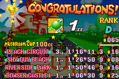 Mario Kart - Super Circuit - Oh yeah, awesome! - User Screenshot