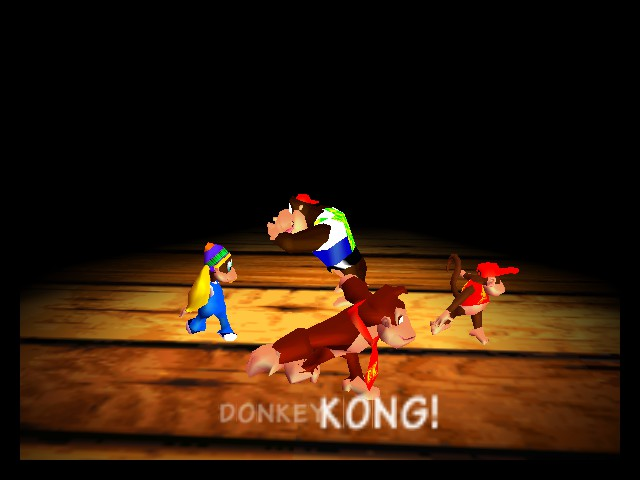 Donkey Kong 64 - whoops! sorry lanky! - User Screenshot