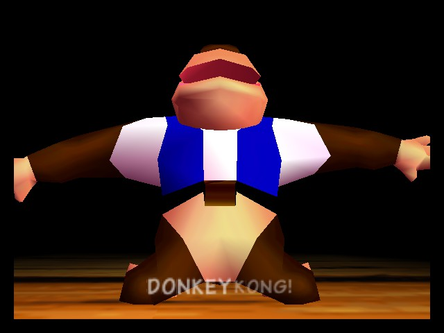 Donkey Kong 64 - Introduction  - CHUNKY GET OUT OF THE WAY OF THE CAMERA!!!!! - User Screenshot