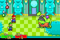 Mario & Luigi - Superstar Saga - Battle - are you quite done maam
