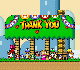 Super Mario World - Ending  - I did it - User Screenshot