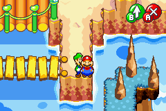 Mario & Luigi - Superstar Saga - Why are fat guys always so happy? - User Screenshot