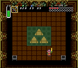 Legend of Zelda, The - A Link to the Past - Link´s Victory stance - User Screenshot