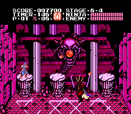 Ninja Gaiden - Final boss Form 1 - User Screenshot