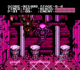 Ninja Gaiden - Final boss Form 2 - User Screenshot