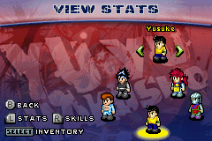 Yu Yu Hakusho - Ghostfiles - Tournament Tactics - Filled Party - User Screenshot