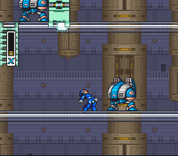 Mega Man X - OUCH! - User Screenshot