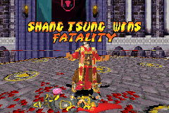 Mortal Kombat - Deadly Alliance - 1 round and this happens? - User Screenshot