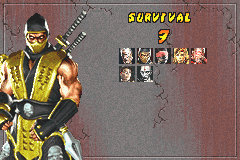 Mortal Kombat - Deadly Alliance - 7 wins - User Screenshot