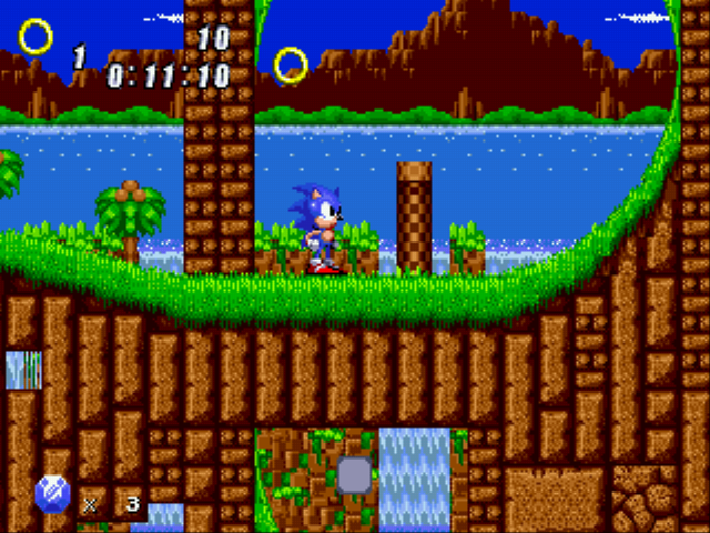 Sonic 2 Retro Remix -  - User Screenshot