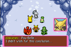 Pokemon Mystery Dungeon - Red Rescue Team - Battle  - oh man... your team is so screwed  - User Screenshot