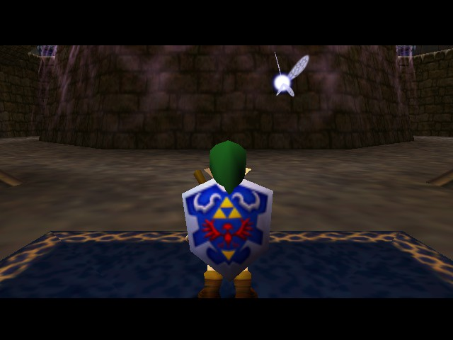 The Legend of Zelda - Ocarina of Time (Debug Edition) - So this is map #64 - User Screenshot