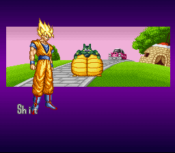 Dragon Ball Z - La Legende Saien - Cut-Scene  - weird - User Screenshot