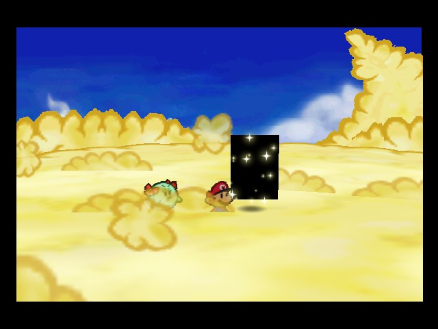Paper Mario - Misc Star - This seems a little fishy - User Screenshot