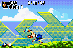 Sonic Advance 2 - Misc Lol. - CREAM GET OFF MY SPINE I DONT LOVE YOU!!!! - User Screenshot